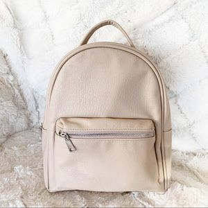 🎉Host Pick🎉 Mini Backpack in Cream by H&M